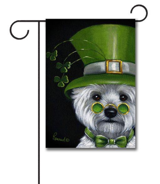 West Highland Terrier Elder Lep - Garden Flag - 12.5'' x 18''