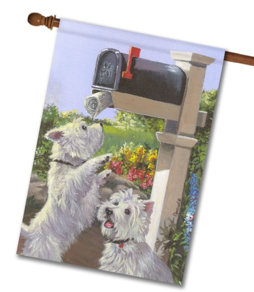 West Highland Terrier We Got Mail- House Flag - 28'' x 40''