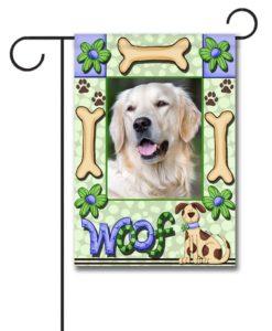 Woof- Photo Garden Flag - 12.5'' x 18''