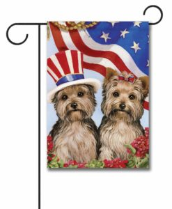 Yorkshire Terrier USA- Garden Flag - 12.5'' x 18''