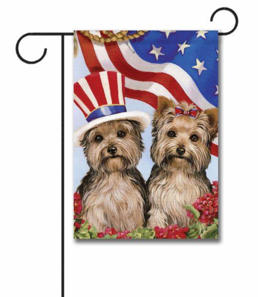 Yorkshire Terrier USA- Garden Flag - 12.5'' x 18''