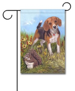 Beagle The Hunter - Garden Flag - 12.5'' x 18''