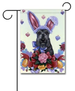 Scottish Terrier Bunny - Garden Flag - 12.5'' x 18''