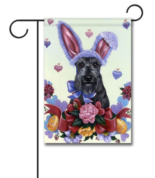 Scottish Terrier Bunny - Garden Flag - 12.5'' x 18''
