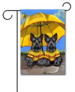 Scottish Terrier Sunshine - Garden Flag - 12.5'' x 18''