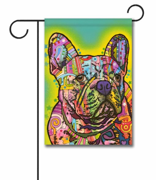 Frenchie - Garden Flag - 12.5'' x 18''