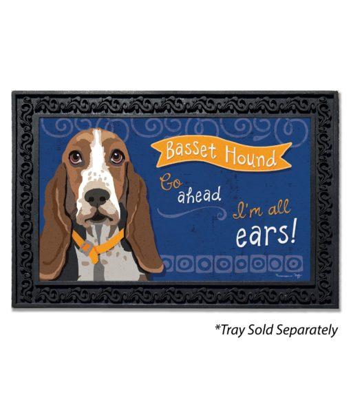 Basset Hound Doormat