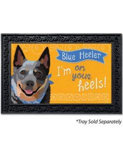 Blue Heeler Doormat