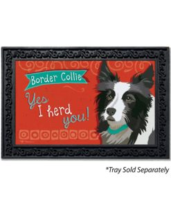 Border Collie Doormat