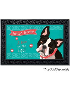 Boston Terrier Doormat