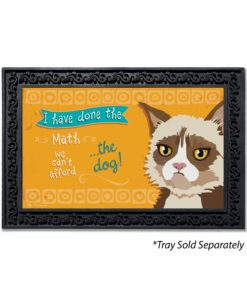 Can't Afford the Dog Himalayan Cat Doormat