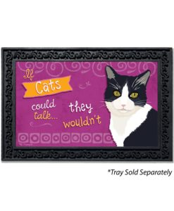 If Cats Could Talk Doormat