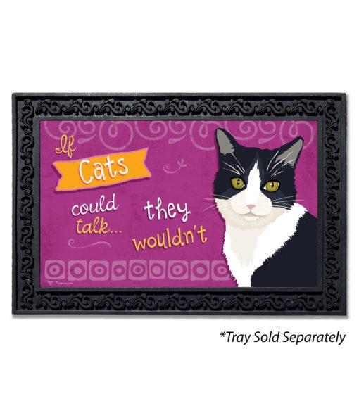 If Cats Could Talk Doormat