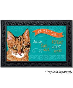 Let the Cat In Doormat