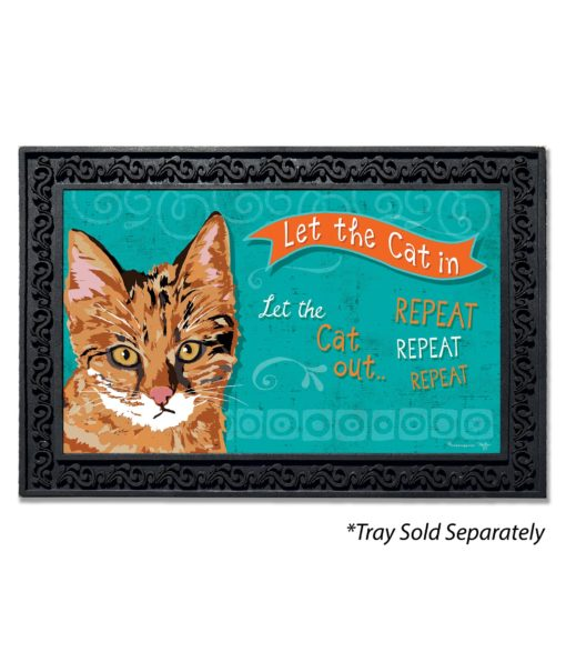 Let the Cat In Doormat