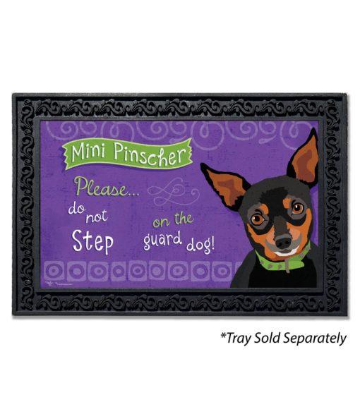 Mini Pinscher Doormat
