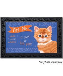 Pet Me Kitten Doormat