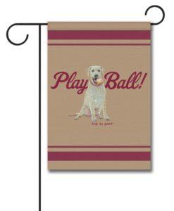 Play Ball - Garden Flag - 12.5'' x 18''