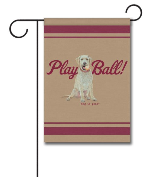 Play Ball - Garden Flag - 12.5'' x 18''