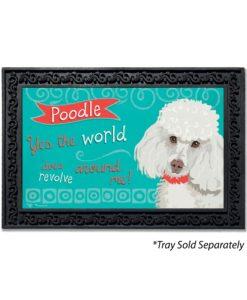 Poodle Doormat