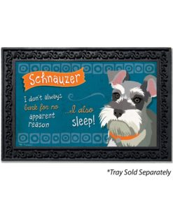 Schnauzer Doormat