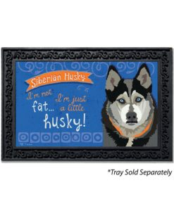 Siberian Husky Doormat