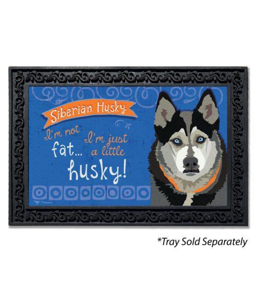 Siberian Husky Doormat