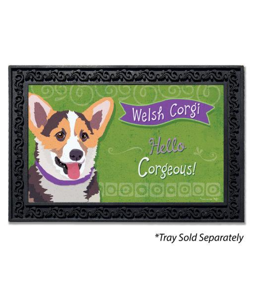 Welsh Corgi Doormat