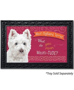 West Highland Terrier Doormat
