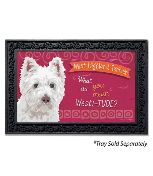 West Highland Terrier Doormat