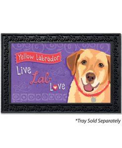 Yellow Labrador Doormat
