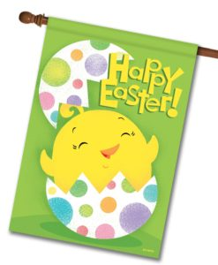 Happy Easter Surprise - House Flag - 28'' x 40''