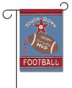 Our Little Football Player - Garden Flag - 12.5'' x 18''