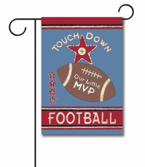 Our Little Football Player - Garden Flag - 12.5'' x 18''