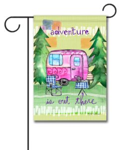 Adventure is Out There - Garden Flag - 12.5'' x 18''