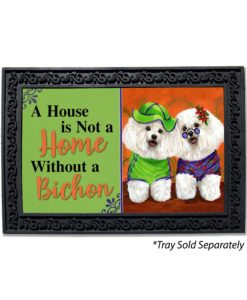Bichon Frise Aloha House Is Not a Home Doormat