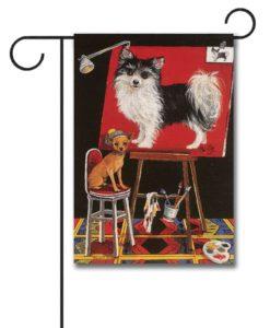 Chihuahua Think Big - Garden Flag - 12.5'' x 18''