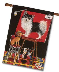 Chihuahua Think Big - House Flag - 28'' x 40''