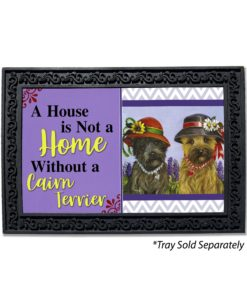 Cairn Terrier Sisters House Is Not A Home Doormat