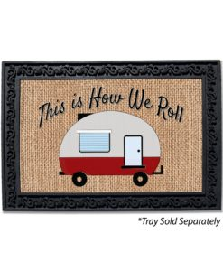 How We Roll Doormat
