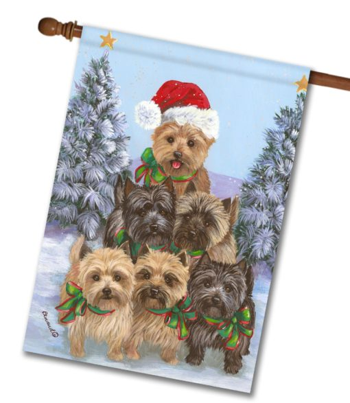 Cairn Terrier Family Tree - House Flag - 28'' x 40''