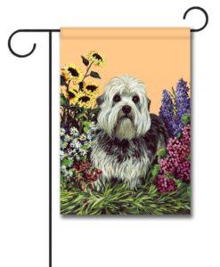Dandie Dinmont Garden - Garden Flag - 12.5'' x 18''