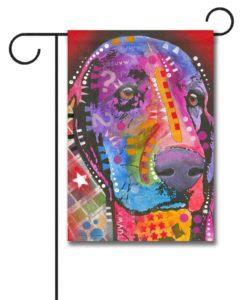 Bloodhound Pop Art - Garden Flag - 12.5'' x 18''