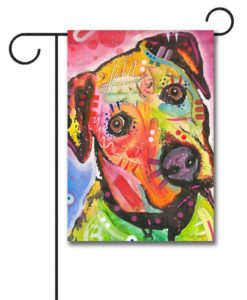 Innocent Boxer - Garden Flag - 12.5'' x 18''