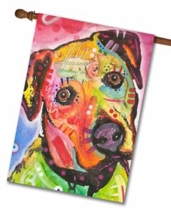 Innocent Boxer - House Flag - 28'' x 40''