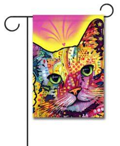 Tilt Cat - Garden Flag - 12.5'' x 18''