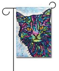 Diligence Cat - Garden Flag - 12.5'' x 18''
