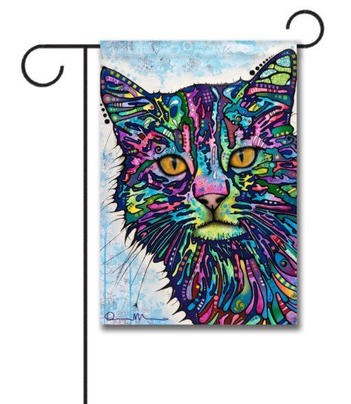 Diligence Cat - Garden Flag - 12.5'' x 18''