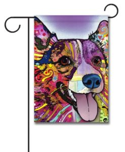 Corgi Pop Art - Garden Flag - 12.5'' x 18''