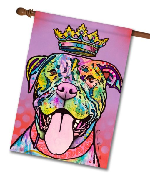 Imperial Pit Bull - House Flag - 28'' x 40''